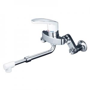 KVK シングルレバー式混合栓 寒冷地用 逆止弁なし 伸縮自在パイプ・楽締めソケット付 《KM5000HAシリーズ》 KM5000ZHASJ