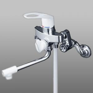 KVK 取替用シングルレバー式シャワー 寒冷地用 接続アダプター付 《KF5000Uシリーズ》 KF5000WU
