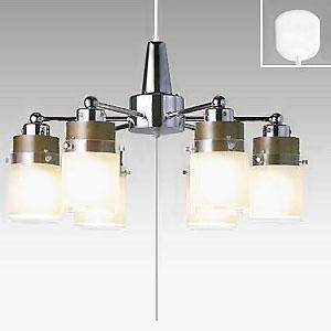 タキズミ LEDシャンデリア ~8畳用 LED電球(LDA)×6灯 電球色 高さ調節可能(コード収納型) TLP-607