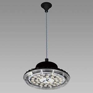 NEC 高天井用LED照明器具 丸形 チェーン吊タイプ 水銀ランプ400W相当 連続調光タイプ 配光角75°昼白色 DRCC13H31K/N-ZJX8