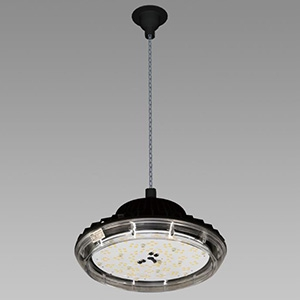 NEC 高天井用LED照明器具 丸形 チェーン吊タイプ 水銀ランプ400W相当 連続調光タイプ 配光角120°昼白色 DRCE13H31K/N-ZJX8