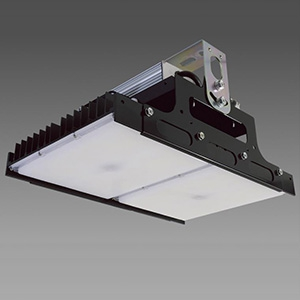 【受注生産品】 NEC 高天井用LED照明器具 角形 直付タイプ 水銀ランプ700W相当 連続調光タイプ 配光角110°昼白色 DRGE30H22K/N-PJX8