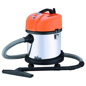 【数量限定】 日動工業 業務用バキュームクリーナー 乾湿両用 屋内型 二重絶縁構造 集塵容量20L 温度サーモ付 NVC-20L-S