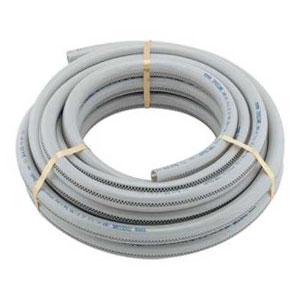 カクダイ 高耐圧ホース 設備機械用 内径12×外径18mm 長さ10m 透明ライン付 597-042-10