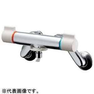 カクダイ 洗濯機用混合栓 寒冷地用 自動閉止機構・逆流防止機能・ストッパー付 127-110K