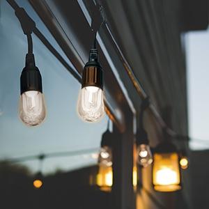 電材堂 【ケース販売特価 6本セット】 ストリングライト LED電球×12灯 昼白色 長さ7.2m STRING12NDZN_set