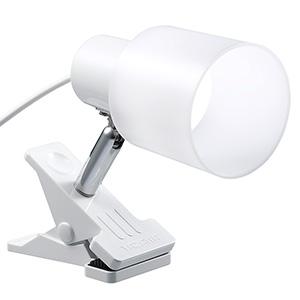 電材堂 【ケース販売特価 18台セット】 LED一体型クリップライト 昼光色 ホワイト CLLE03N14WHDNZ_set