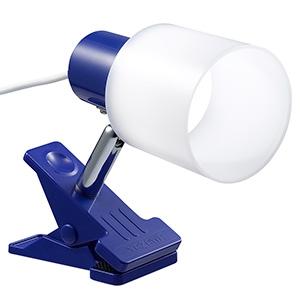 電材堂 【ケース販売特価 18台セット】 LED一体型クリップライト 昼光色 ブルー CLLE03N14BLDNZ_set