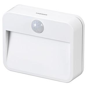 電材堂 【ケース販売特価 24台セット】 LEDナイトライト 乾電池式 白色LED×2灯 人感・明暗センサー付 NBSMN14WHDNZ_set