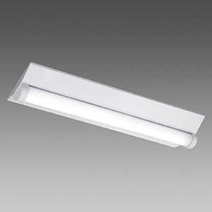 東芝 【お買い得品 10台セット】 LEDベースライト 《TENQOOシリーズ》 防湿・防雨形 20タイプ 直付形 W230 一般タイプ 1600lmタイプ Hf16形×1灯用高出力形器具相当 昼白色 非調光タイプ LEKTW223163N-LS9_10set