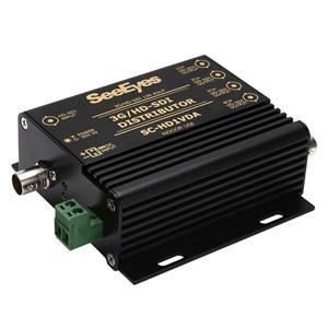 日本防犯システム 映像4分配器 EX-SDI/HD-SDI用 PF-EB024