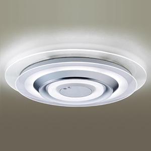 パナソニック LEDシーリングライト 《AIR PANEL LED》 2枚パネルタイプ ~8畳用 天井直付型 調光・調色タイプ 昼光色~電球色 リモコン付 透明 LGBZ1190