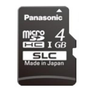 パナソニック 業務用SDメモリーカード SCシリーズ SLCタイプ 4GB 書換え回数約6000回 UHS-I対応 RP-SMSC04SW0