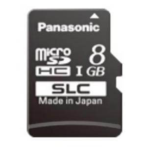 パナソニック 業務用SDメモリーカード SCシリーズ SLCタイプ 8GB 書換え回数約6000回 UHS-I対応 RP-SMSC08SW0