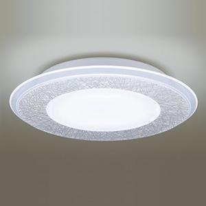 パナソニック LEDシーリングライト 《AIR PANEL LED》 1枚パネルタイプ ~14畳用 天井直付型 調光・調色タイプ 昼光色~電球色 リモコン付 透明・模様入(和紙) LGBZ4196