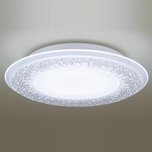 パナソニック LEDシーリングライト 《AIR PANEL LED》 1枚パネルタイプ ~12畳用 天井直付型 調光・調色タイプ 昼光色~電球色 リモコン付 透明・模様入(木々の葉) LGBZ3197