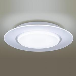 パナソニック LEDシーリングライト 《AIR PANEL LED》 1枚パネルタイプ ~12畳用 天井直付型 調光・調色タイプ 昼光色~電球色 リモコン付 透明 LGBZ3199