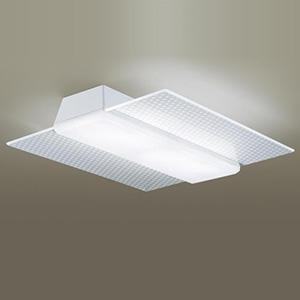 パナソニック LEDシーリングライト 《AIR PANEL LED》 角型タイプ ~12畳用 天井直付型 調光・調色タイプ 昼光色~電球色 リモコン付 透明・模様入(麻の葉) LGBZ3188