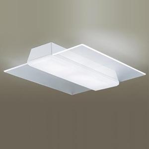 パナソニック LEDシーリングライト 《AIR PANEL LED》 角型タイプ ~14畳用 天井直付型 調光・調色タイプ 昼光色~電球色 リモコン付 透明 LGBZ4189