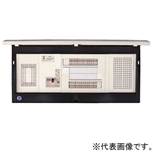 河村電器産業 ホーム分電盤 《enステーション》 スタンダードタイプ 扉付 8+4 主幹40A リミッタースペース付 ELF4084