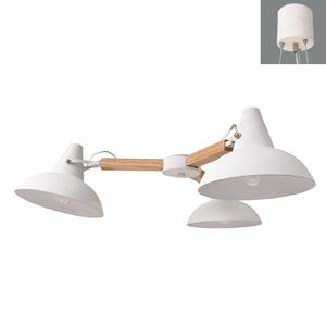 ディクラッセ ペンダントライト 《Riise》 60W 白熱ミニ球×3灯 E17口金 LP3035WH