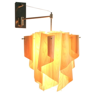 ディクラッセ ブラケットライト 《Auro-wood》 100W 白熱普通球 E26口金 壁面取付専用 LB6100WO