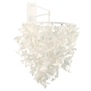ディクラッセ ブラケットライト 《Paper-Foresti》 60W相当 電球色 電球型蛍光灯 E26口金 壁面取付専用 LB6400WH