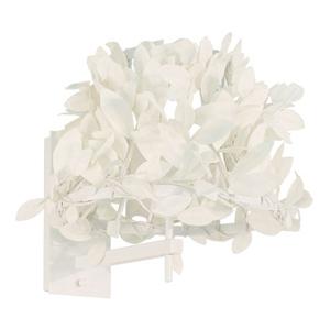 ディクラッセ ブラケットライト 《Paper Foresti small》 60W相当 電球色 電球型蛍光灯 E17口金 壁面取付専用 LB6450WH