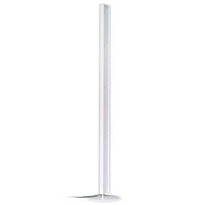 ディクラッセ LEDフロアランプ 《LED Tramonto》 電球色 白熱電球70W相当 縦・横置き兼用 フットスイッチ付 ホワイト LF4466WH
