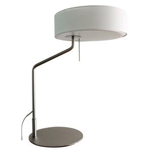 ディクラッセ LEDテーブルランプ 《LED Capella》 白熱電球60W相当 プルスイッチ付 ホワイト LT3703WH