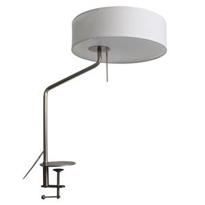 ディクラッセ LEDクランプライト 《LED Capella》 クランプ式 白熱電球60W相当 プルスイッチ付 ホワイト LT3704WH