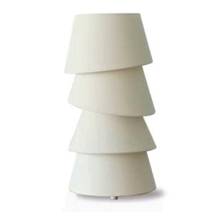 ディクラッセ フロアランプ 《Balance S》 40W 白熱ミニ球 E17口金 中間スイッチ付 ホワイト LT3717WH
