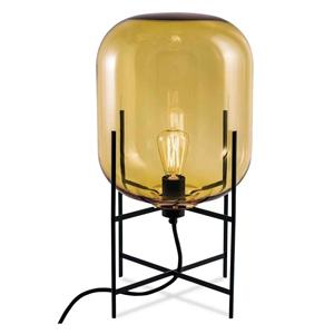 ディクラッセ フロアランプ 《ODA M》 60W 白熱レトロ球 白熱普通電球30W相当 E26口金 フットスイッチ付 アンバー LF4475AM