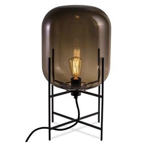ディクラッセ フロアランプ 《ODA M》 60W 白熱レトロ球 白熱普通電球30W相当 E26口金 フットスイッチ付 スモーキーグレー LF4475GY