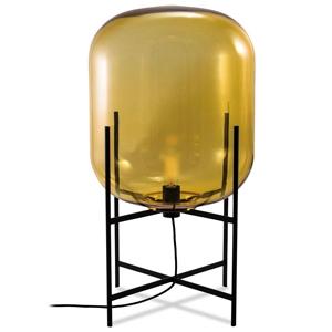 ディクラッセ フロアランプ 《ODA S》 40W 白熱シャンデリア球 E17口金 フットスイッチ付 アンバー LF4476AM