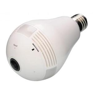 ダイトク 360°Wi-Fi電球型カメラ 《Dive-y360》 屋内用 E26口金タイプ 撮影用白色LED付 GS360-LED