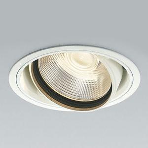 コイズミ照明 LEDユニバーサルダウンライト 高彩度vividcolorタイプ 3000lmクラス HID70W相当 電球色 埋込穴φ150mm 照度角25° XD44555L