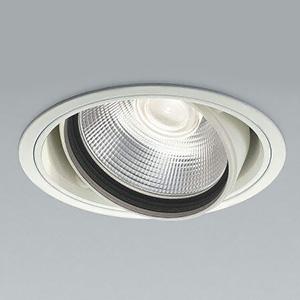 コイズミ照明 LEDユニバーサルダウンライト 高彩度vividcolorタイプ 3000lmクラス HID70W相当 温白色 埋込穴φ150mm 照度角20° XD44557L