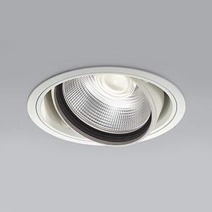 コイズミ照明 LEDユニバーサルダウンライト 明るさ切替タイプ 温白色 埋込穴φ150mm 照度角15°電源別売 ファインホワイト XD91064L