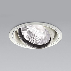 コイズミ照明 LEDユニバーサルダウンライト 明るさ切替タイプ 白色 埋込穴φ150mm 照度角20°電源別売 ファインホワイト XD91069L