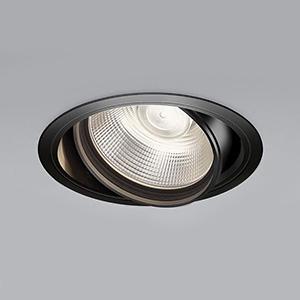コイズミ照明 LEDユニバーサルダウンライト 明るさ切替タイプ 温白色 埋込穴φ150mm 照度角15°電源別売 ブラック XD91076L