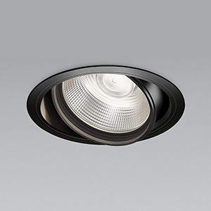 コイズミ照明 LEDユニバーサルダウンライト 明るさ切替タイプ 白色 埋込穴φ150mm 照度角15°電源別売 ブラック XD91083L