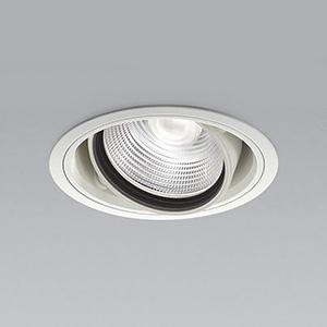 コイズミ照明 LEDユニバーサルダウンライト 明るさ切替タイプ 温白色 埋込穴φ125mm 照度角20° 電源別売 ファインホワイト XD91093L