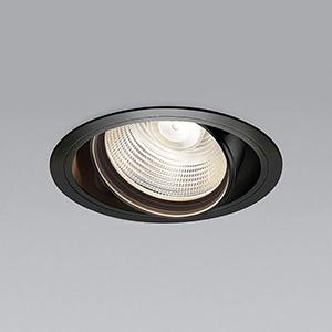 コイズミ照明 LEDユニバーサルダウンライト 明るさ切替タイプ 電球色(2700K) 埋込穴φ125mm 照度角15° 電源別売 ブラック XD91100L
