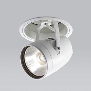 コイズミ照明 LEDダウンスポットライト 明るさ切替タイプ 温白色 埋込穴φ125mm 照度角30° 電源別売 ファインホワイト XD91202L