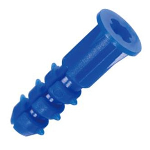 ジェフコム ニューエールプラグ お徳用ジャンボパック ネジサイズφ4.0~5.4×長さ(取付物厚み+24)mm 1800本入 ブルー JP-BL-6