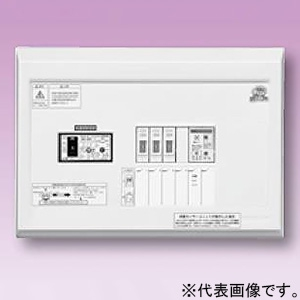 テンパール工業 住宅用分電盤 《パールテクト》 感震機能付 横一列タイプ 扉なし 5+1 主幹30A YAG23051SES2B