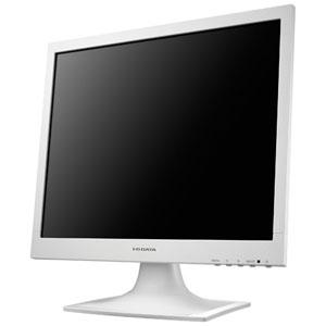 アイオーデータ スクエア液晶ディスプレイ スタンダードモデル 17型 ホワイト LCD-AD173SESW
