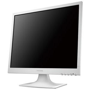 アイオーデータ スクエア液晶ディスプレイ スタンダードモデル 19型 広視野角ADSパネル ホワイト LCD-AD192SEDSW