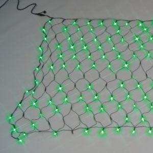 ジェフコム LEDクロスネット ランダム点滅タイプ 単色タイプ 緑・緑 SJ-NA33-GG